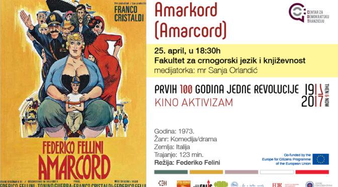 Kino aktivizam: Amarkord