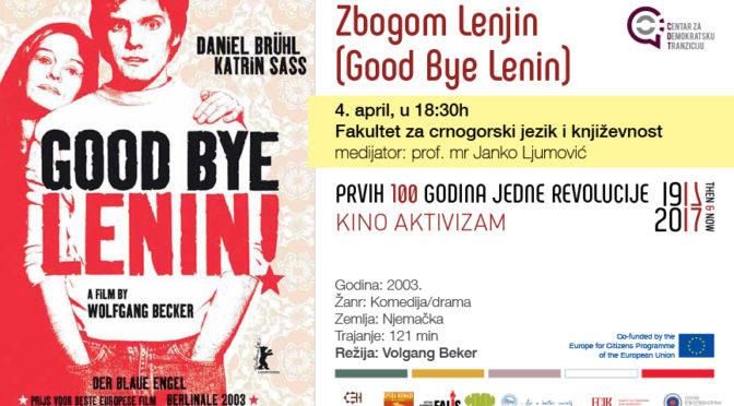 Kino aktivizam: Good Bye Lenin