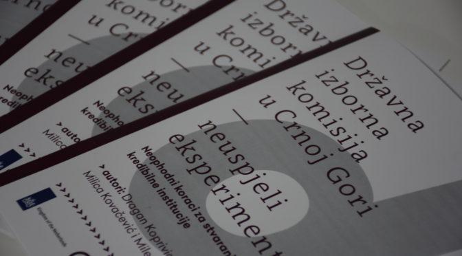 Državna izborna komisija – neuspjeli eksperiment