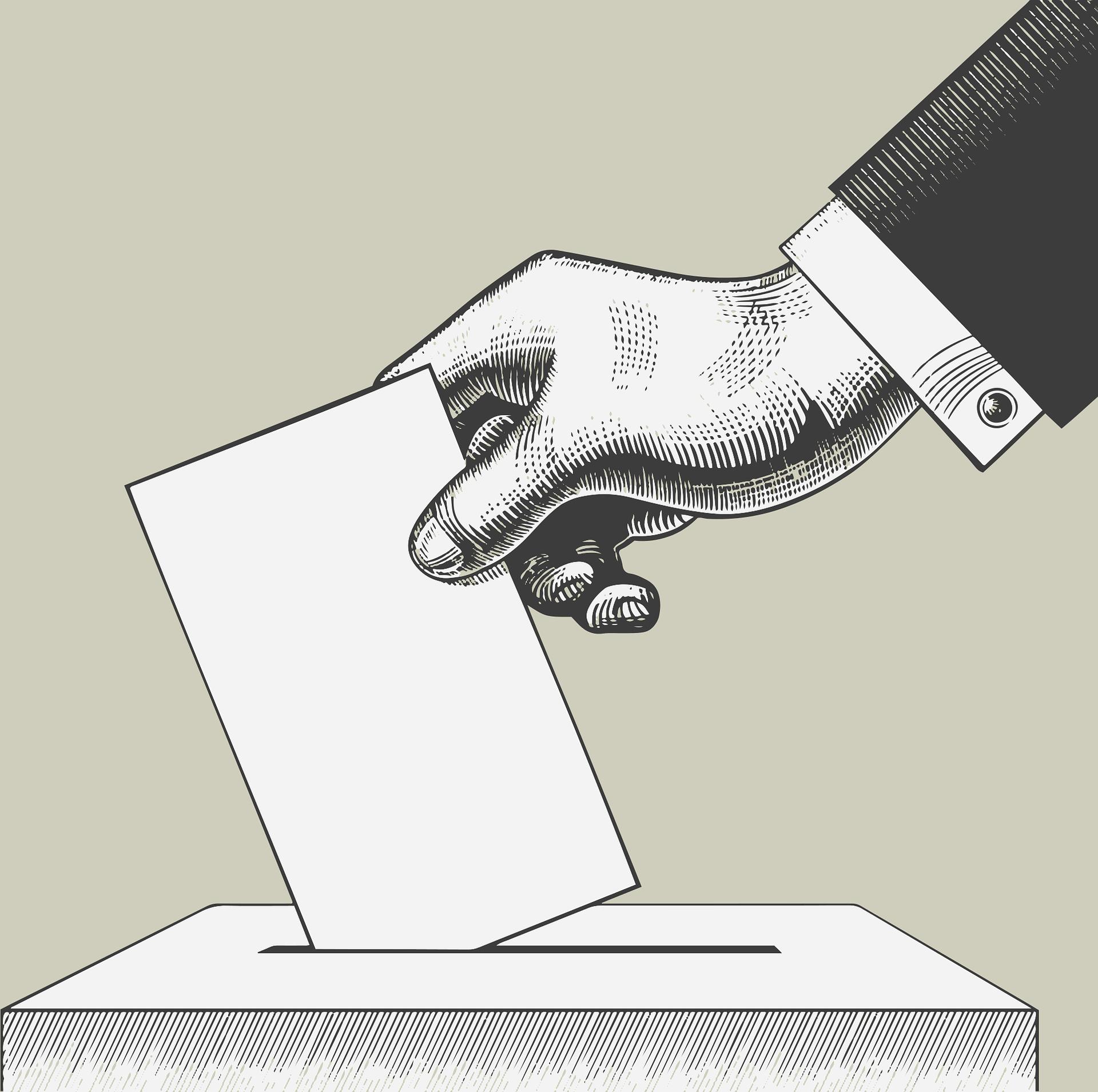 Svi mogu da glasaju!